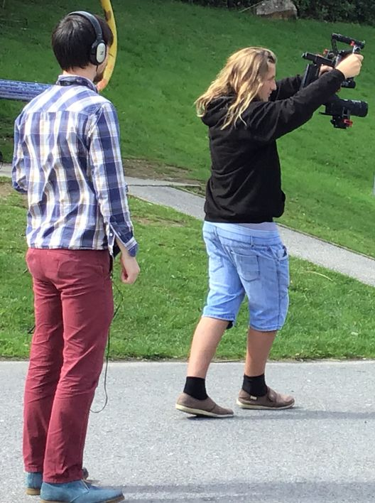 YIM Filming on Location